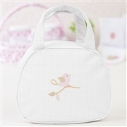 Bolsa Maternidade Passarinhos Branca