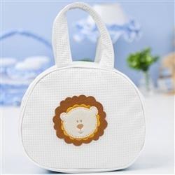 Bolsa Maternidade Zoo Baby Branca