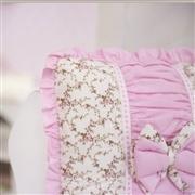 Quarto para Bebê sem Cama Babá Drapeado Rosa Floral
