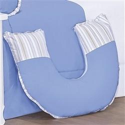 Almofada para Amamentação Fazendinha Azul