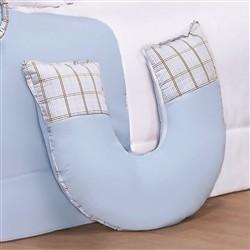 Almofada para Amamentação Amiguxos Azul VIP