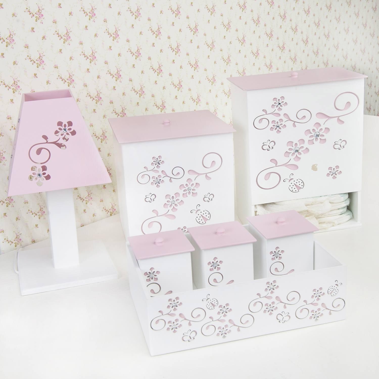 Kit Higiene Fiori Rosa