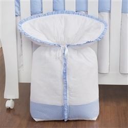 Porta Bebê Urso Anjinho Azul