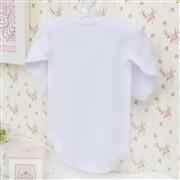 Body Manga Longa Princesa Branco Recém-nascido a 3 meses
