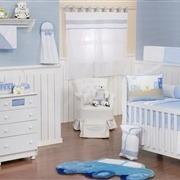 Quarto para Bebê sem Cama Babá Carrinhos