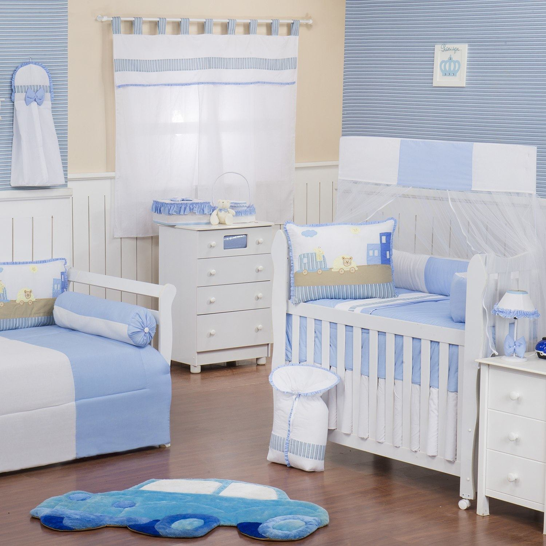 Quarto para Bebê Carrinhos