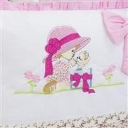 Quarto para Bebê sem Cama Babá Surpresa Rosa