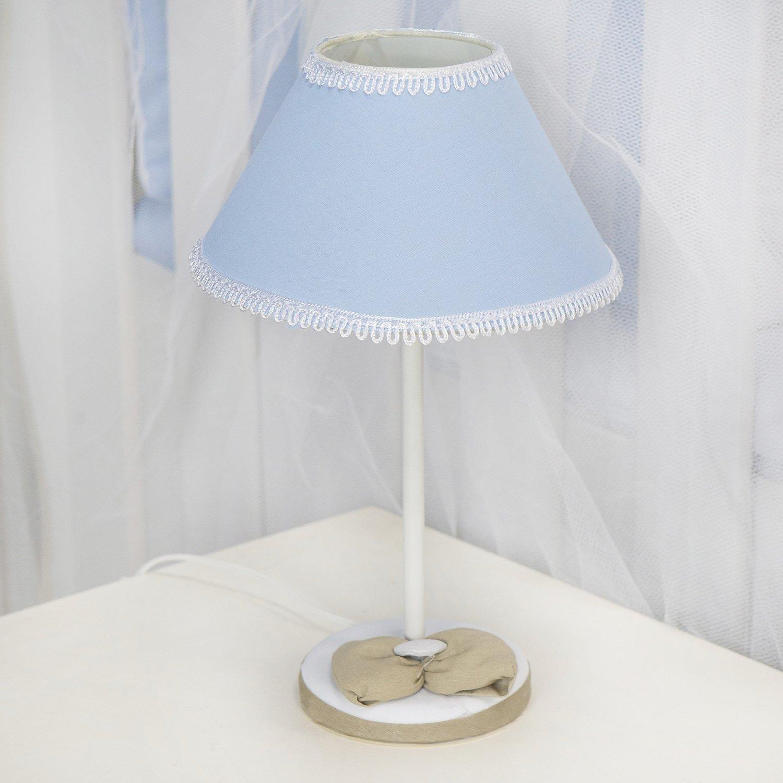 Abajur Realeza Luxo Azul