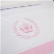 Jogo de Lençol Realeza Rosa