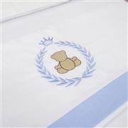 Jogo de Lençol Teddy Azul