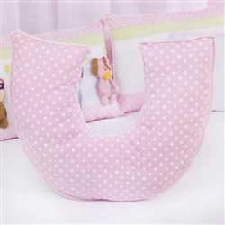 Almofada para Amamentação Bebezinhos Rosa