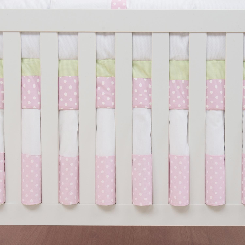 Saia para Berço Bebezinhos Rosa