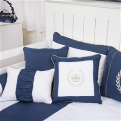 Almofadas Decorativas Realeza Luxo Marinho