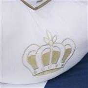 Almofada para Amamentação Realeza Luxo Marinho