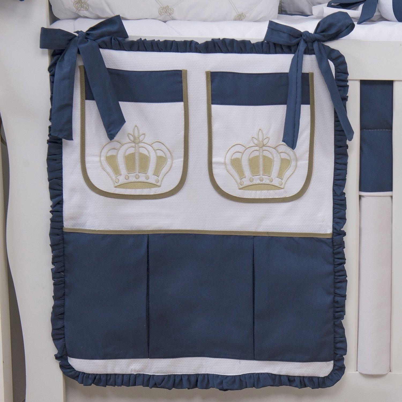 Porta Treco Realeza Luxo Marinho