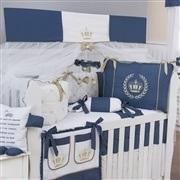 Quarto para Bebê Realeza Luxo Marinho