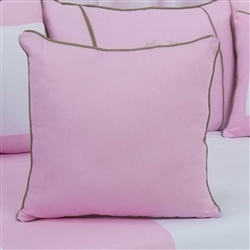 Almofada Lisa Realeza Luxo Rosa