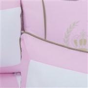 Almofadas Decorativas Realeza Luxo Rosa