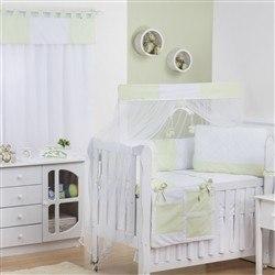 Quarto para Bebê sem Cama Babá Soft Verde