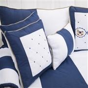 Almofadas Decorativas Elegance Cavalinho de Balanço Marinho
