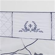 Kit Berço Versailles Marinho