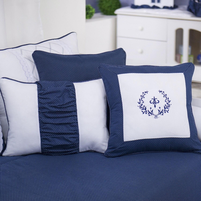 Almofadas Decorativas Versailles Marinho