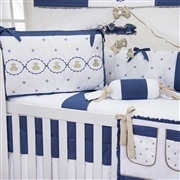 Quarto para Bebê sem Cama Babá Elegance Teddy Marinho