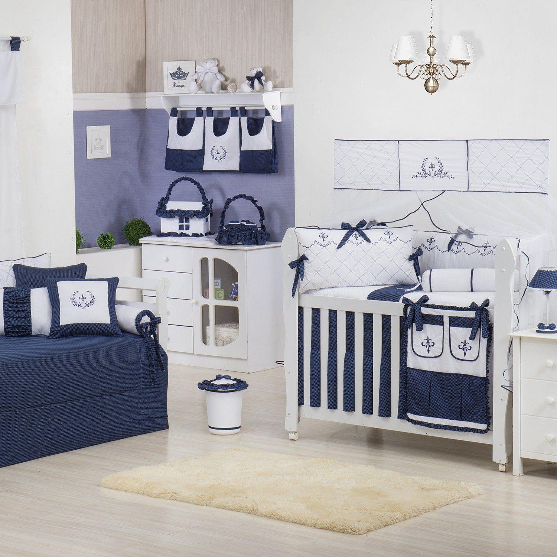 Quarto para Bebê Versailles Marinho