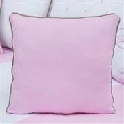 Almofada Lisa Elegance Coroa Rosa