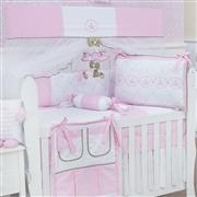 Quarto para Bebê Elegance Coroa Rosa