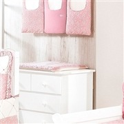 Kit Berço Princesa Clássica Rosa Antigo