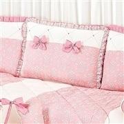 Kit Cama Babá Princesa Clássica Rosa Antigo