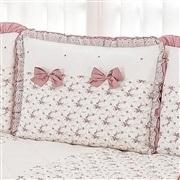 Kit Cama Babá Princesa Clássica Floral Rosê