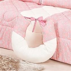 Almofada para Amamentação Princesa Clássica Rosa Antigo
