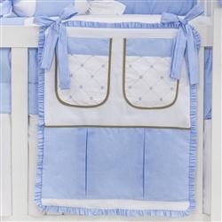Porta Treco Elegance Teddy Azul