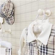 Saída Maternidade Colete Xadrez - Tamanho Único