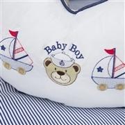 Almofada para Amamentação Baby Boy Navy Marinho