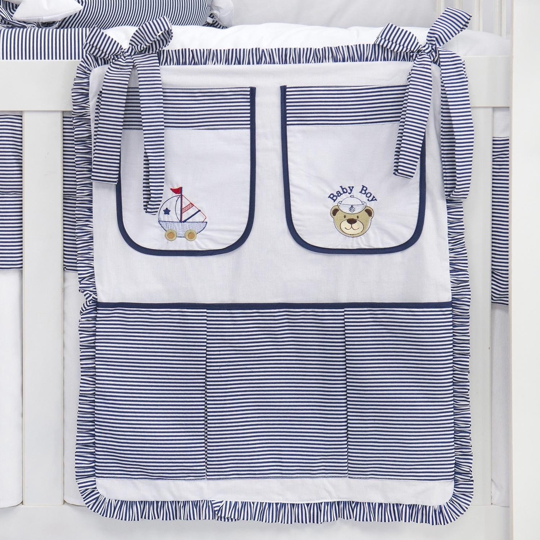Porta Treco Baby Boy Navy Marinho