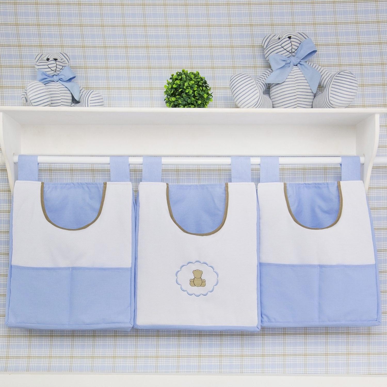 Prateleira Completa Elegance Teddy Azul