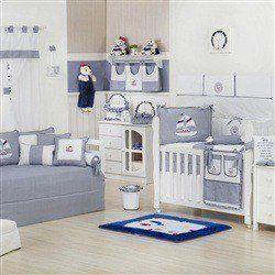 Quarto para Bebê Baby Boy Navy Marinho