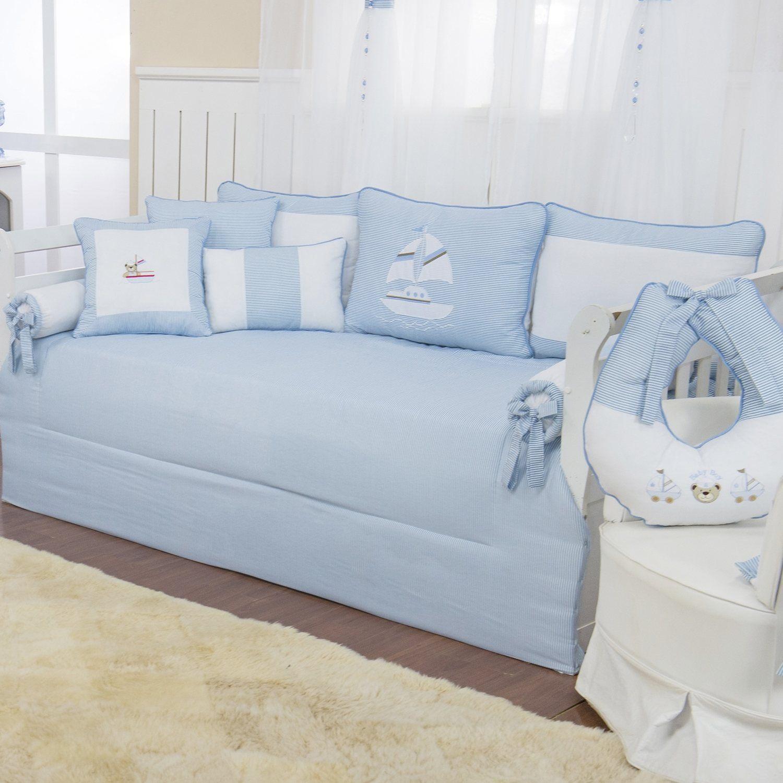 Kit Cama Babá Baby Boy Navy Azul