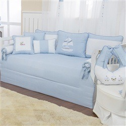 Kit Cama Babá Baby Boy Navy Azul