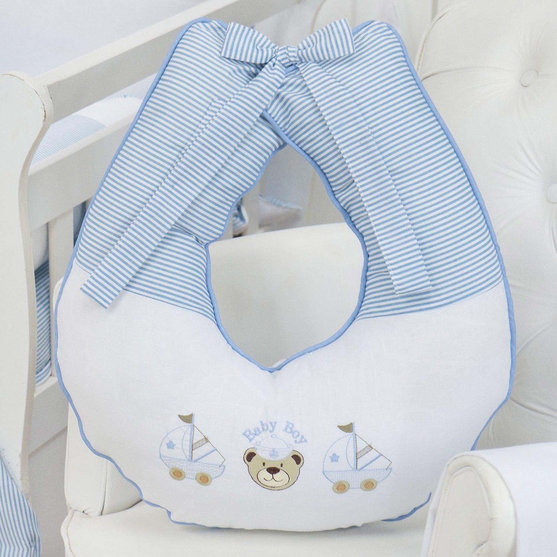 Almofada para Amamentação Baby Boy Navy Azul
