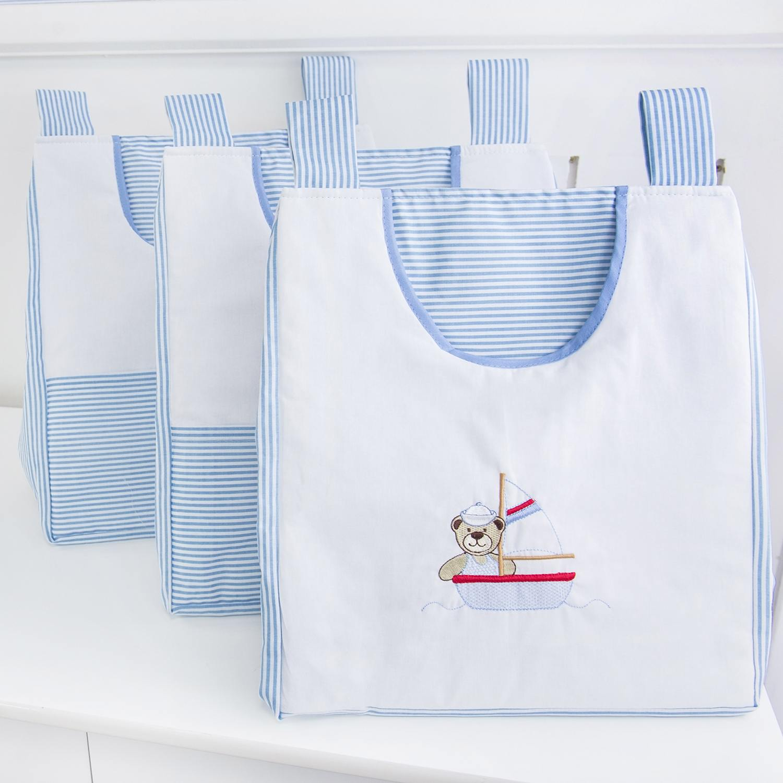 Porta Fraldas Varão Baby Boy Navy Azul