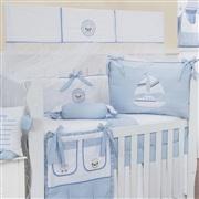 Quarto para Bebê sem Cama Babá Baby Boy Navy Azul