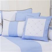 Almofadas Decorativas Elegance Cavalinho de Balanço Azul