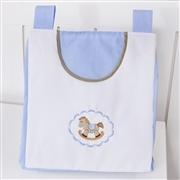 Porta Fraldas Varão Elegance Cavalinho de Balanço Azul