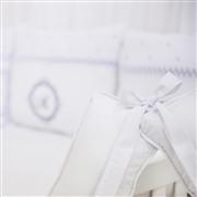 Almofada para Amamentação Marselle Marinho com Inicial do Nome Personalizada