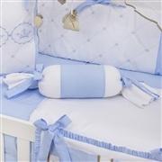 Almofada Apoio Bala Elegance Coroa Azul