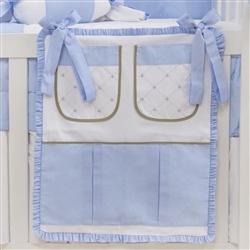 Porta Treco Elegance Coroa Azul